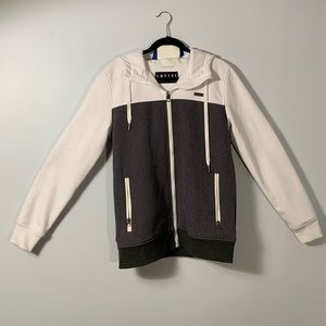 Empire Small white Zip up